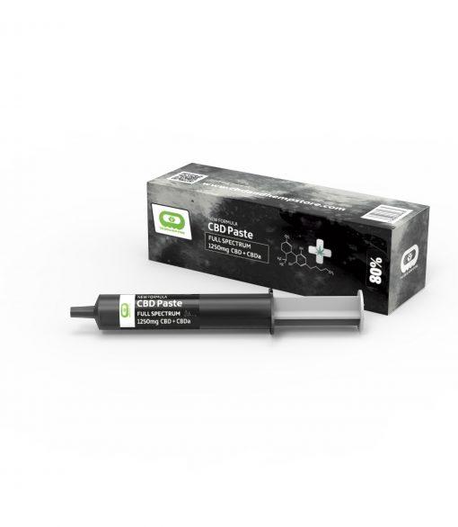 A tube of CBD Paste 80% Strength