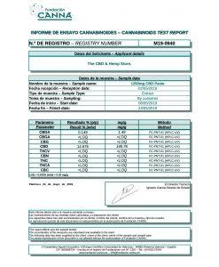 CBD Paste 80% - 1250mg - 10ml
